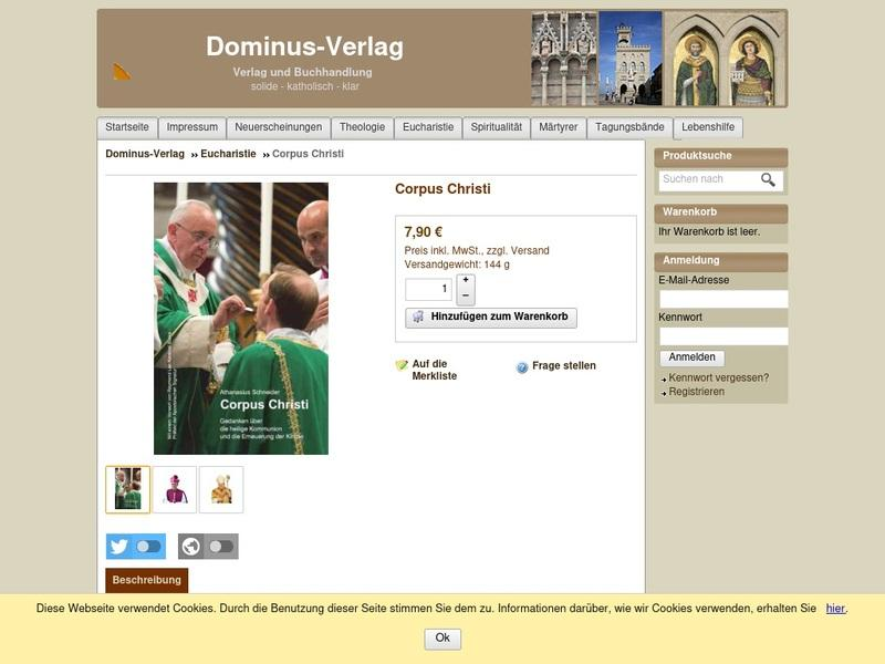 Screenshot von http://shop.strato.de/epages/61306125.sf/de_DE/?ObjectPath=/Shops/61306125/Products/%22058%20Corpus%20Christi%22