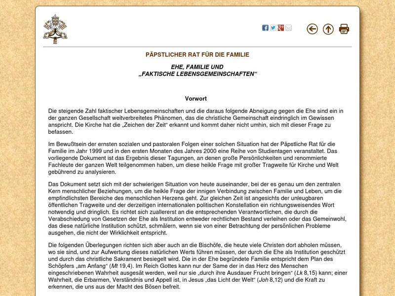 Screenshot von http://www.vatican.va/roman_curia/pontifical_councils/family/documents/rc_pc_family_doc_20001109_de-facto-unions_ge.html
