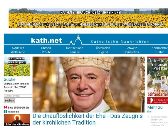 Screenshot von http://kath.net/news/43173