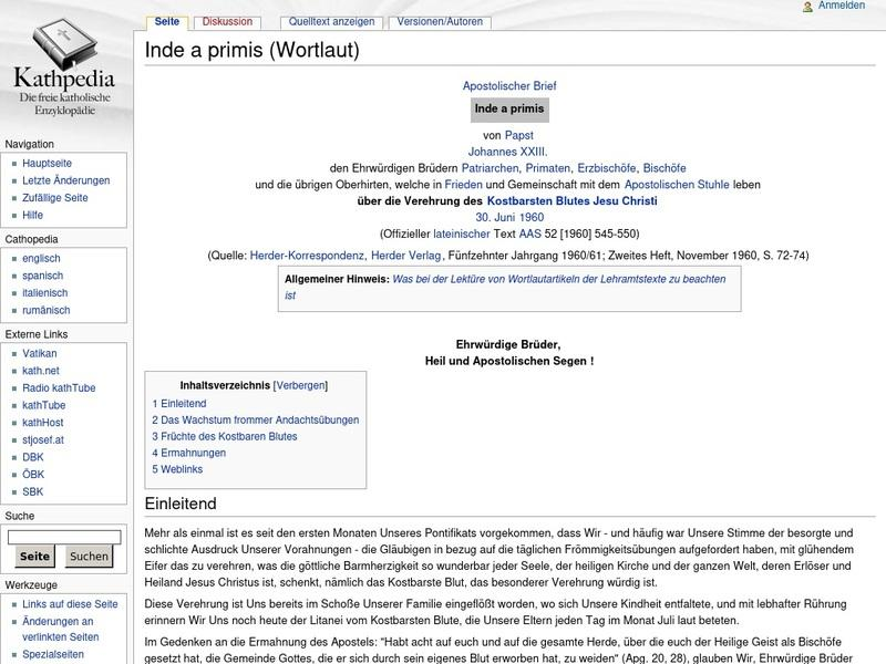 Screenshot von http://www.kathpedia.com/index.php?title=Inde_a_primis_%28Wortlaut%29