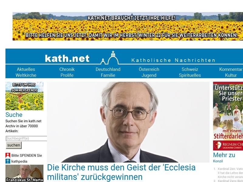 Screenshot von http://www.kath.net/news/34825