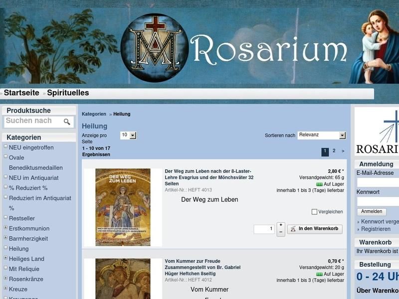 Screenshot von https://www.sanctum-rosarium.de/epages/Shop46777.sf/de_DE/?ViewAction=View&ObjectID=34012860&PageSize=10