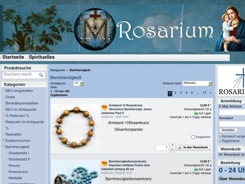 Screenshot von http://www.sanctum-rosarium.de/epages/Shop46777.sf/de_DE/?ObjectPath=/Shops/Shop46777/Categories/Barmherzigkeit